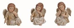 Angel Decoration Cherub Sitting Porcelain 9cm