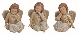 Angel Decoration Cherub Sitting Porcelain 13cm