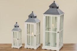 Christmas Lantern Robert Fir White Extra Large115cm