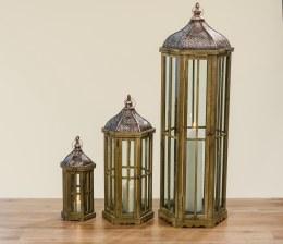 Lantern Verons China Fir Brown Medium 50cm