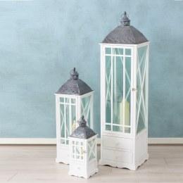 Christmas Lantern Lina China Fir White Extra Large 140cm