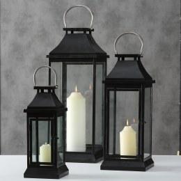 Christmas lantern Michigan Iron Black Extra Large 61cm
