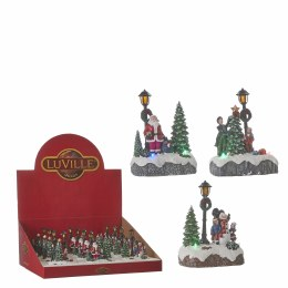 Luville Christmas Scenery with LED Lights 9.5cm x 5.5cm x 12.5cm