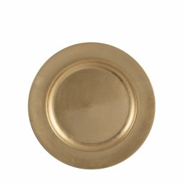 Christmas Gold Decoration Plate Mila Small 28cm