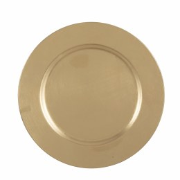 Christmas Gold Decoration Plate Mila Large 33cm