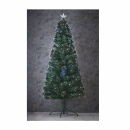 Fibre Optic Christmas Tree Camini with Multi Colour Lights 4 FootTall