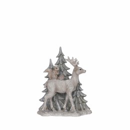 Christmas Standing Woodland Deer Ornament 17 x 7.5 x  20.5cm