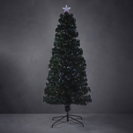 Fiber Optic Christmas Tree Green With 100 Fiber Tips 180cm