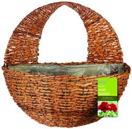 Gardman Rustic Wall Basket 12 in