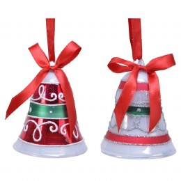 Christmas Multicolor Bell 8cm