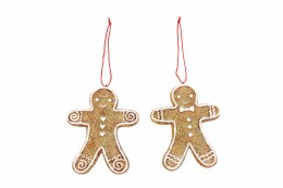 Christmas Gingerbread Man Decoration 8cm
