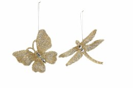 Christmas Decoration Dragonfly / Butterfly 14cm