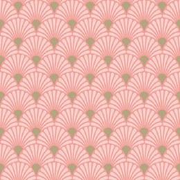 Napkin 33cm Art Deco Rose/Gold