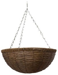 Gardman Rattan Brown Basket 14 in