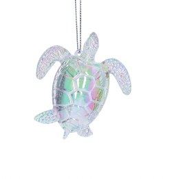 Christmas Decoration Acrylic Turtle 8cm