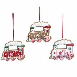 Christmas Decoration Gingerbread Train 6cm