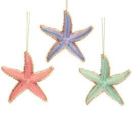 Christmas Decoration Resin Star Fish 8cm