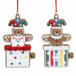 Christmas Decoration Gingerbread Jack-In-Box 8cm