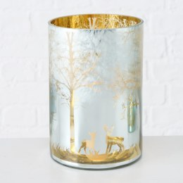 Christmas Candle Holder Windlight Leanos