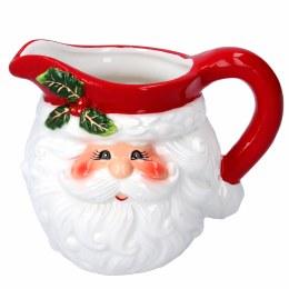 Christmas Ceramic Santa Head Jug 11cm