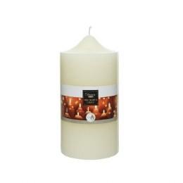 Christmas Church Candle Ivory Wax 10 x 20cm