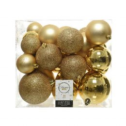 Christmas Bauble Box of 26 Gold