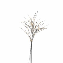 Silver tree with 144 Warm White LED Lights 120cm Tall With Round Base