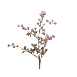 Christmas Branch of Blush Pink Flowers 37 x 10 x 100cm