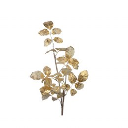 Champagne Leaf Stem Wtih Gold and Glitter 88cm