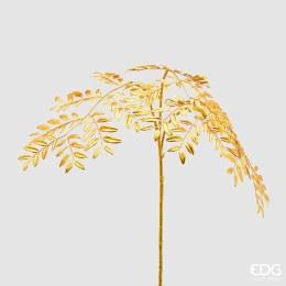 Artificial Acacia branch gold  Height: 107cm