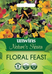 Natures Haven Floral Feast