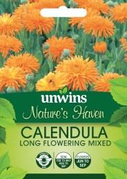Natures Haven Calendula Long Flowering Mixed