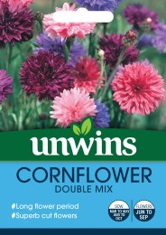Cornflower Double Mix