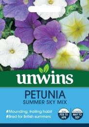 Petunia Summer Sky Mix