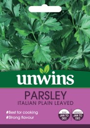 Herb Parsley Italian Plain Leaved