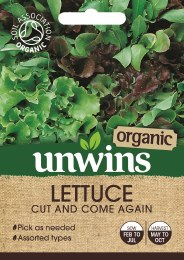 Lettuce (Leaves) Cut And Come Again (Organic)