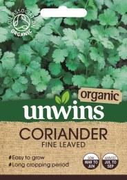 Herb Coriander Fine Leaved (Organic)