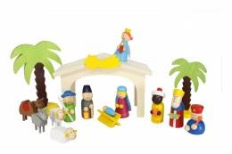 Childrens Christmas Nativity Set 19x24cm