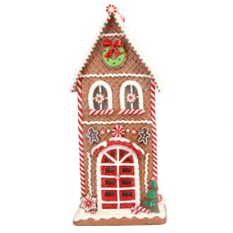 Christmas Gingerbread house with LED lights 38cm