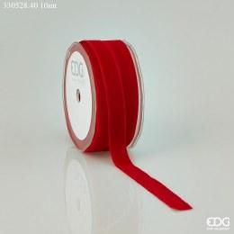 Christmas Ribbon Red Velvet 16mm x 10m Red