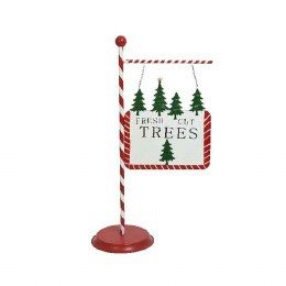 Christmas Tree Sign Decoration
