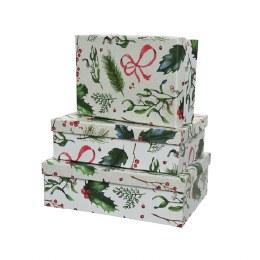 Christmas Rectangular Giftbox - Large