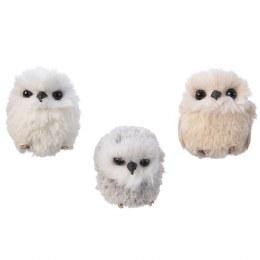 Christmas Owl With Hanger 7cm