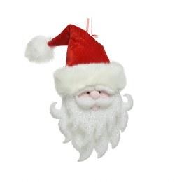 Chirstmas Decoration Santa With Red Foam Velvet Hat 35cm