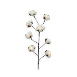 Christmas Lights Battery LED Cotton Snowy Branch 76cm