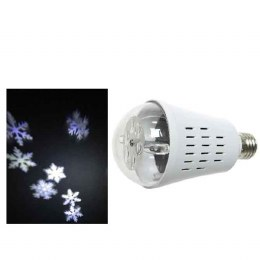 LED Snowflake Projector Bulb