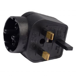 Round 3A Adapter English Plug for Contout Plug