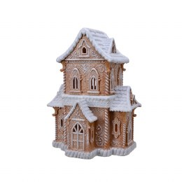 Christmas Gingerbread House 21 x 27.5 x 37cm