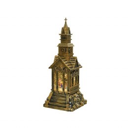 LED Water Spinning Church Ornament