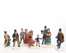 Christmas Village Scene Characters 7cm